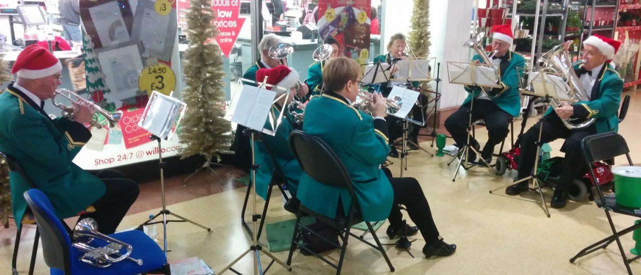 Carolling at Hart Shopping Fleet – 9th December 2017