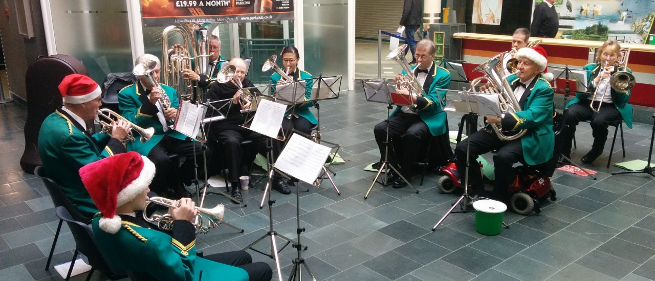 Carolling at The Wellington Centre Aldershot – 16th December 2017