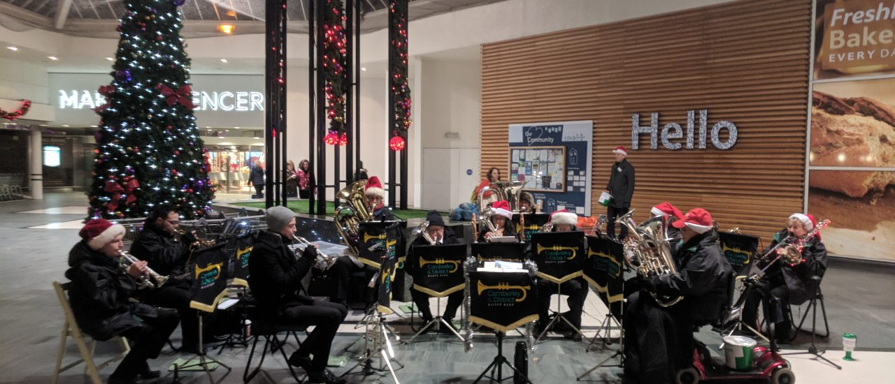 Carolling at The Meadows – 7th December 2018