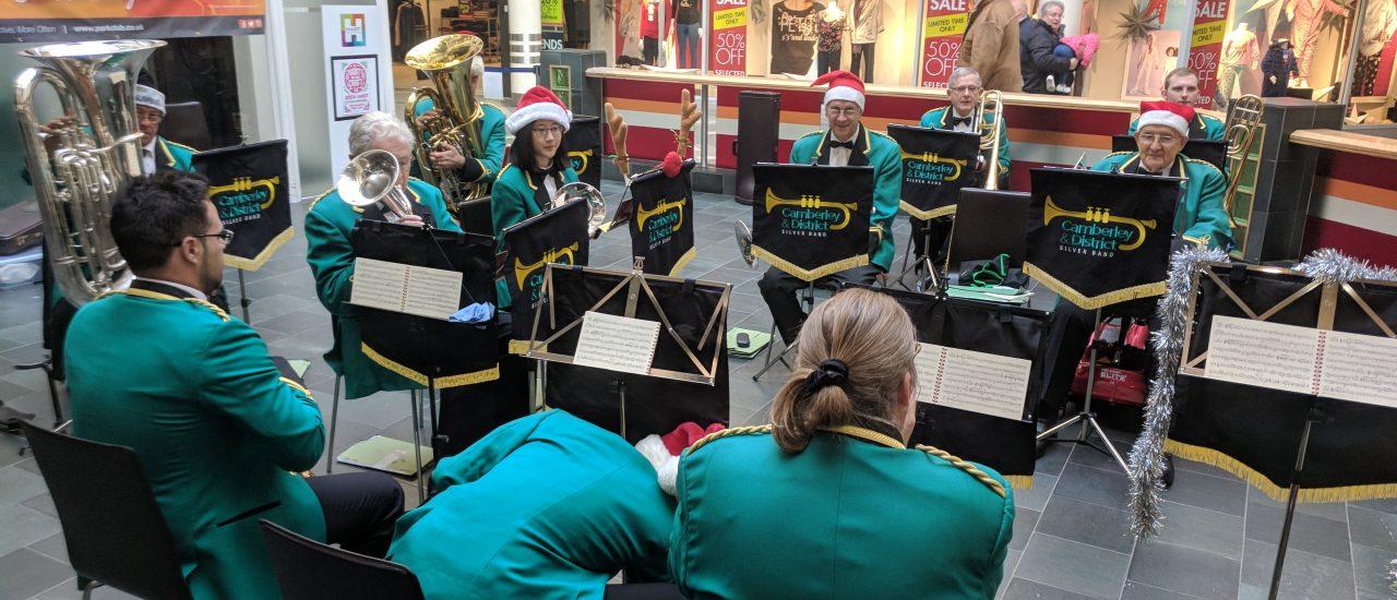 Carolling at Hart Shopping Fleet – 8th December 2018